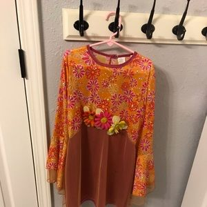 Other - Groovy 60's Dress Costume Size 6X-8